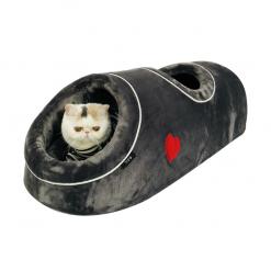Fleece Cat Tunnel Bed